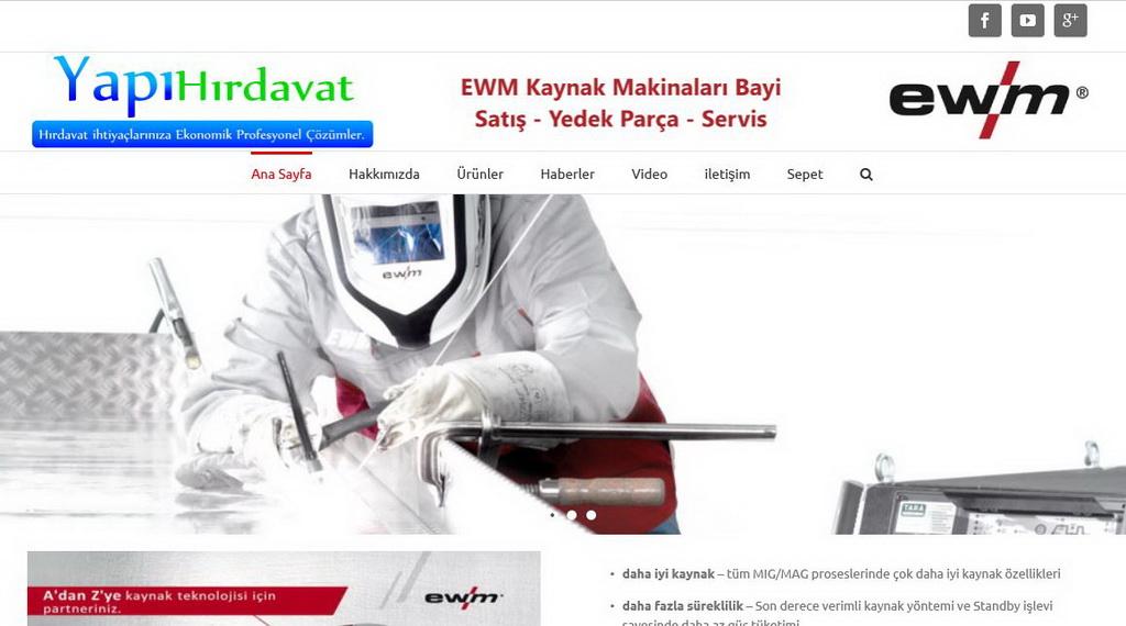 www.ewmkaynak.com ewm kaynak makinaları satış