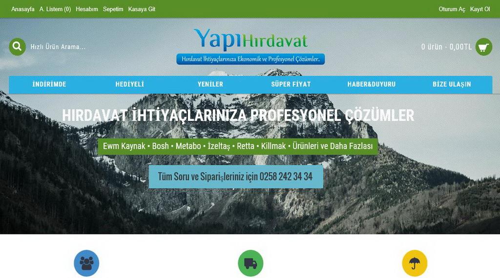 www.yapihirdavat.com.tr Yapı Hırdavat Ürünleri